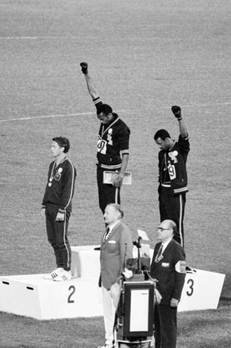Black Power Olympic Medalists, Mexico City, 1968