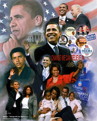 Obama: Change II by Gregory Wishum