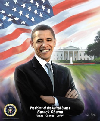 President Barack Obama by Gregory Wishum